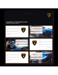 Menovky na zošity Lamborghini Asterion