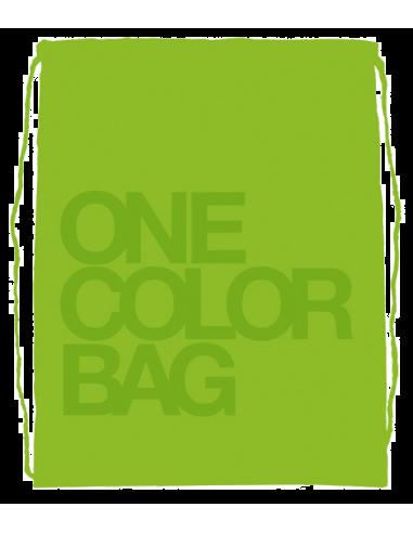 Študentský vak One Colour zelený
