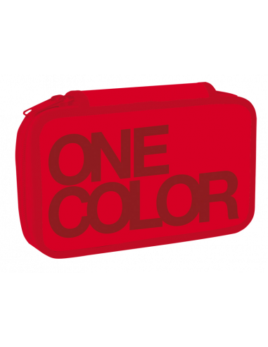 Peračník dvojposchodový One Colour červený