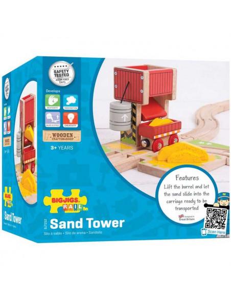 Veža s pieskom