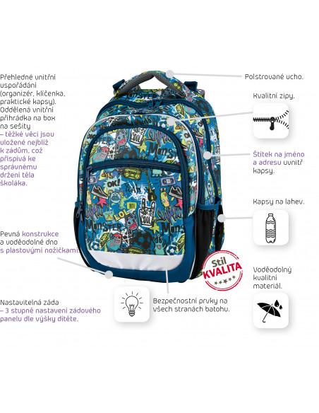 Školský batoh Comics