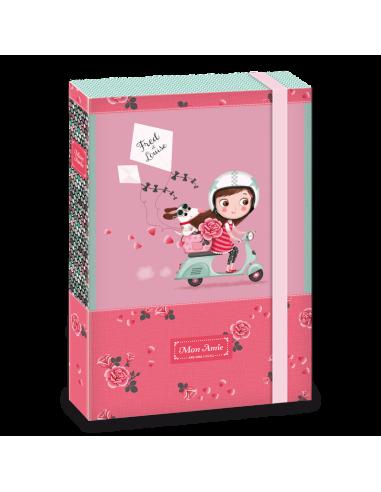 Box na zošity Mon Amie rider A4
