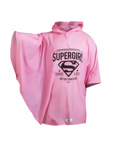Pláštenka pončo Supergirl - ORIGINAL