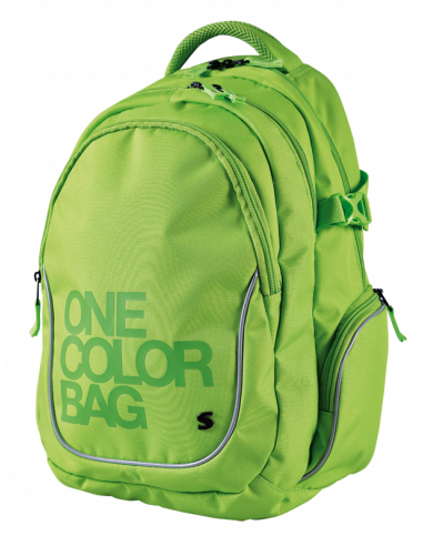 Batoh teen One Colour zelený