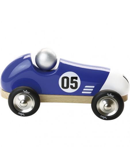 Závodné auto Vintage modré