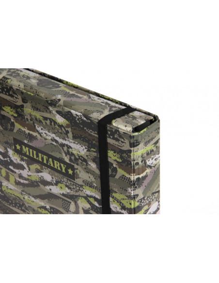 Box na zošity s chlopňou A5 Military