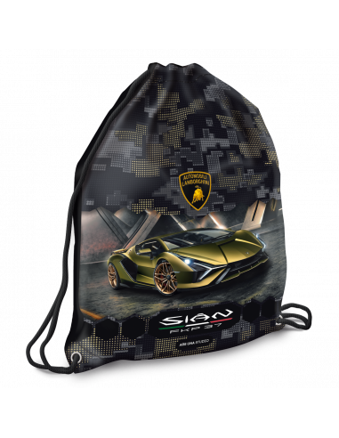 Vrecko na prezúvky Lamborghini Gold
