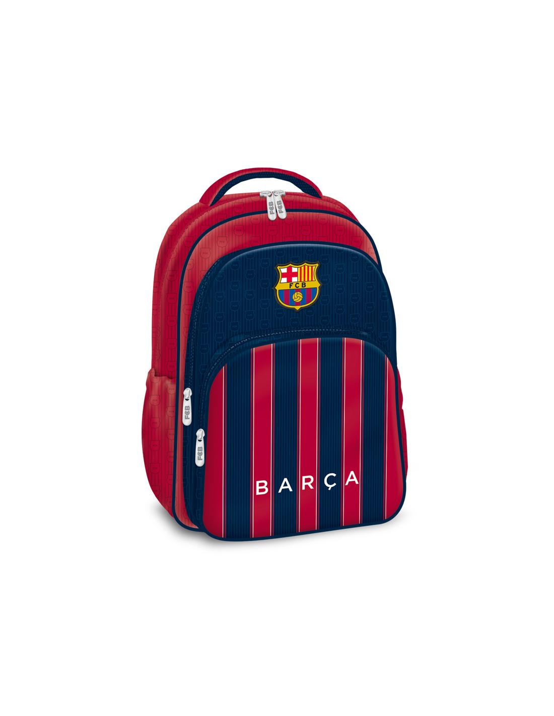 df19aa8af2 FC Barcelona stripe trojkomorový batoh